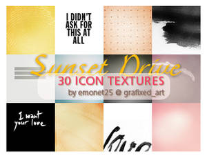 Sunset Drive Icon Textures