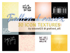 Fallen Leaves icon textures