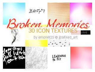 Broken Memories Icon Textures
