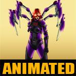 Kim by Paneseeker, animated