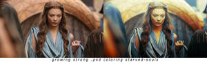 Growing Strong Psd Coloring Starved-souls