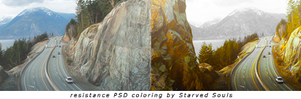 resistance PSD coloring by Starved Souls