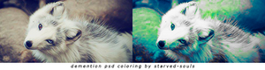 Demention Psd Colorng By Starved-souls