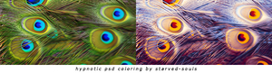 Hypnotic Psd Coloring By Starved-souls