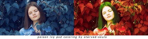 Poison Ivy Psd Coloring By Starved-souls