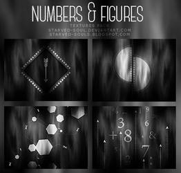 Numbers + Figures Textures Pack By Starved-soul