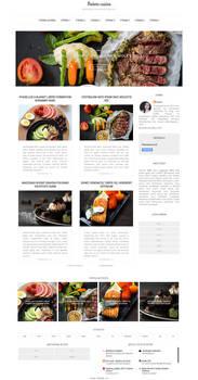 Modern Cuisine Szablon By Wioska-szablonow