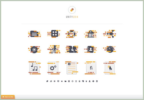 UNITY 2014 iPACK Icons