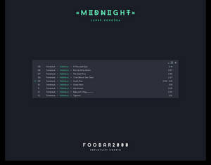 Midnight Foobar2000 EsPlaylist