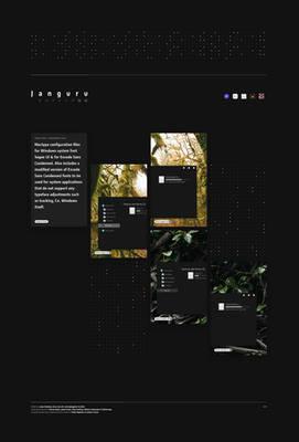 Janguru Type features
