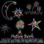 Nature Swirls Brushes
