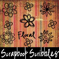 Scrapbook Scribbles Floral