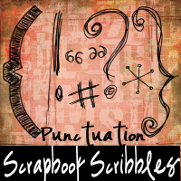 ScrapbookScribbles Punctuation by mandy71480