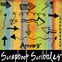 Scrapbook Scribbles- Arrows by mandy71480