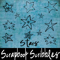 Scrapbook Scribbles- Stars by mandy71480