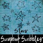 Scrapbook Scribbles- Stars