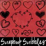 Scrapbook Scribbles- Hearts