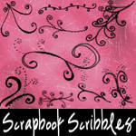 Scrapbook Scribbles-Flourishes by mandy71480
