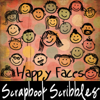 ScrapbookScribbles Happy Faces by mandy71480