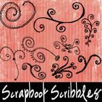 Scrapbook Scribbles-Swirls
