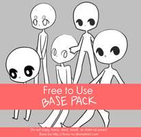 Free to Use Base Pack II by Koru-ru