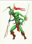 The Green Martian