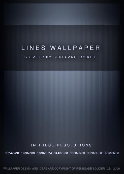 Lines Wallpaper Pack by renegadesoldier