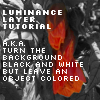 How to make luminance layers by miomo