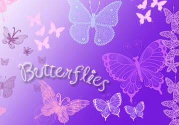 ButterFlies BruSHES....
