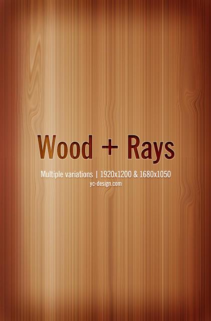 Wood + Rays by yc