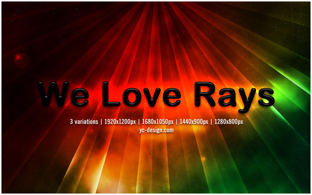 We Love Rays by yc