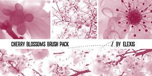 Cherry Blossoms Brush Pack