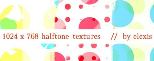 HALFTONE textures 1024X768 by elexis6