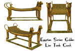 Egyptian Series: Tomb Couch