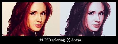 #1 PSD coloring by Anaya21