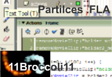 Partilces .FLA by 11Broccoli11