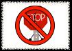 Anti-Stop Sign Stamp by Sugar-CreatorOfSFDI