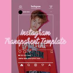 Instagram Transparen Template