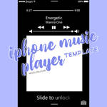 Music Player On Iphone Lock Screen By Woojinjjaa