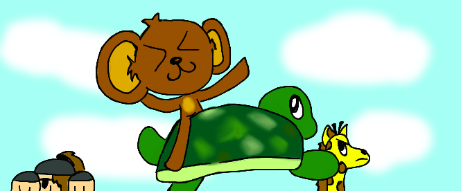setting of the monkey and the turtle The monkey & the turtle ang unggoy at ang pagong (the monkey and the turtle) is a folk tale of the ilocano people it explains why monkeys don't like to eat meat.