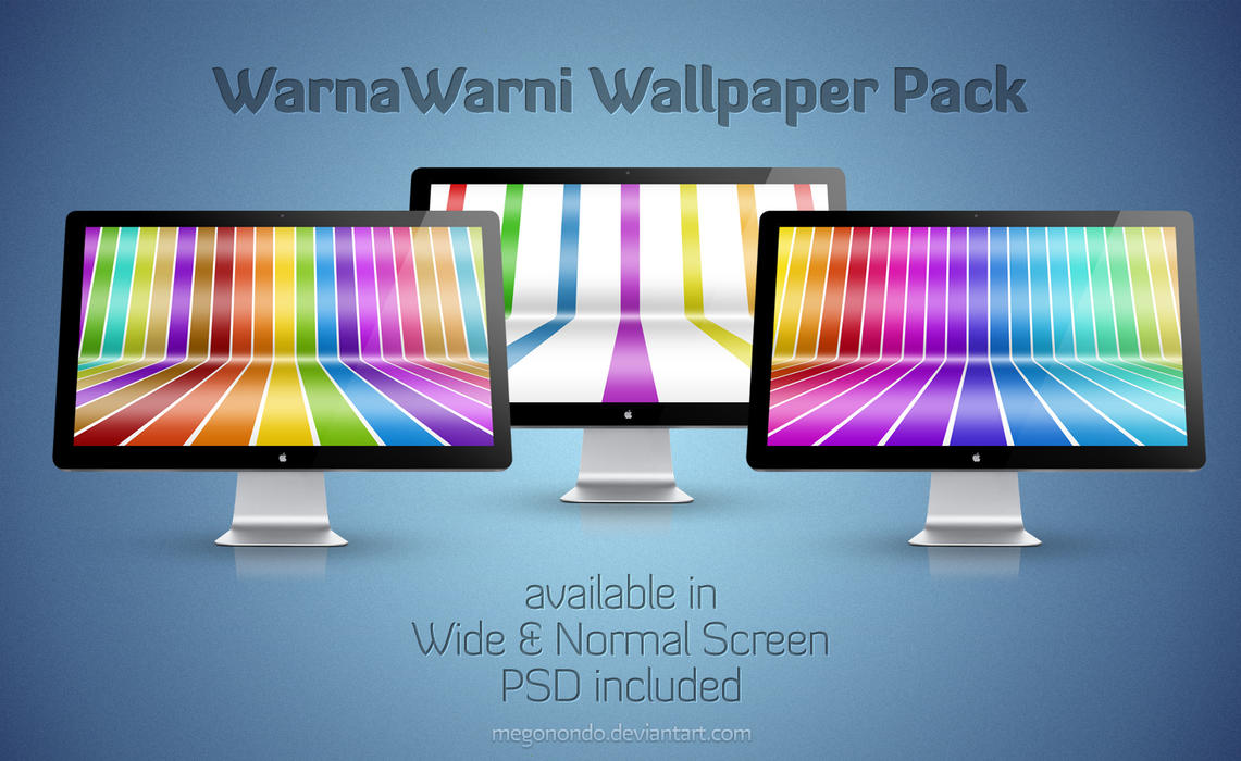 WarnaWarni Wallpaper pack by Megonondo
