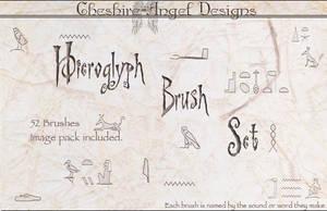 Hieroglphs Brush Set