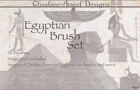 Egyptian Brush Set