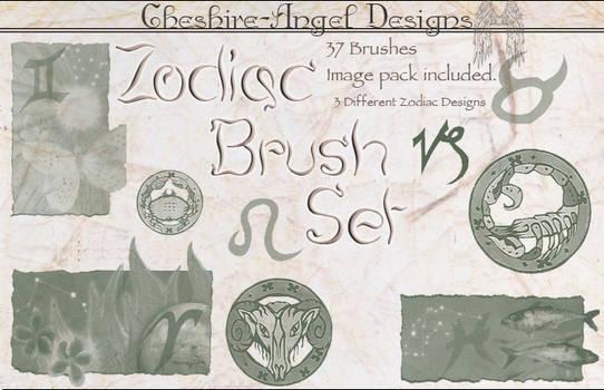 Zodiac Brush Set