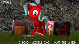 [DL] Books for Pones. by FancyClassicaMelody