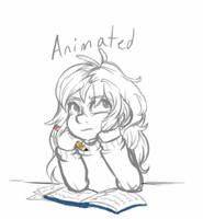 Sarah Bored Sketch Animation