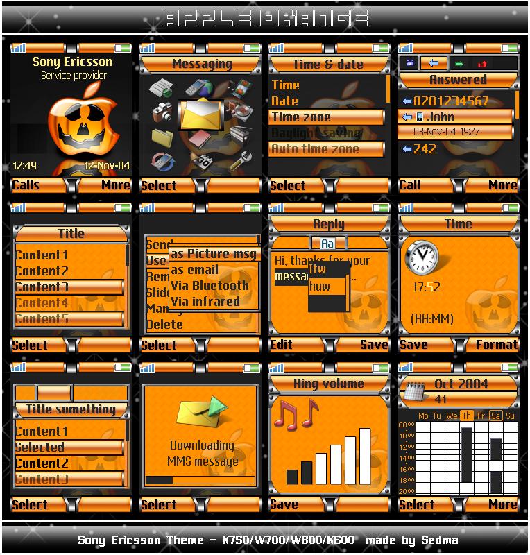 Apple Orange - 176x220 by Sedma