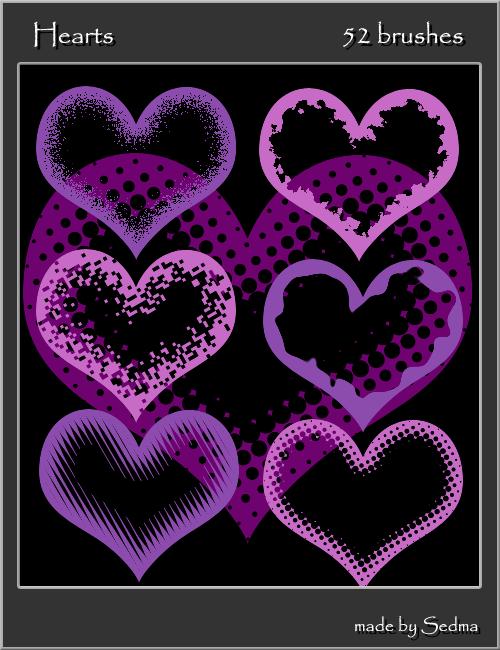 Hearts by Sedma