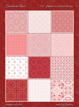 101 Seamless - Red Patterns