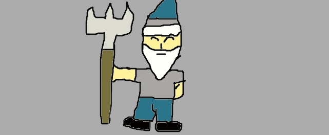 Norm the Gnome by Mew2fem